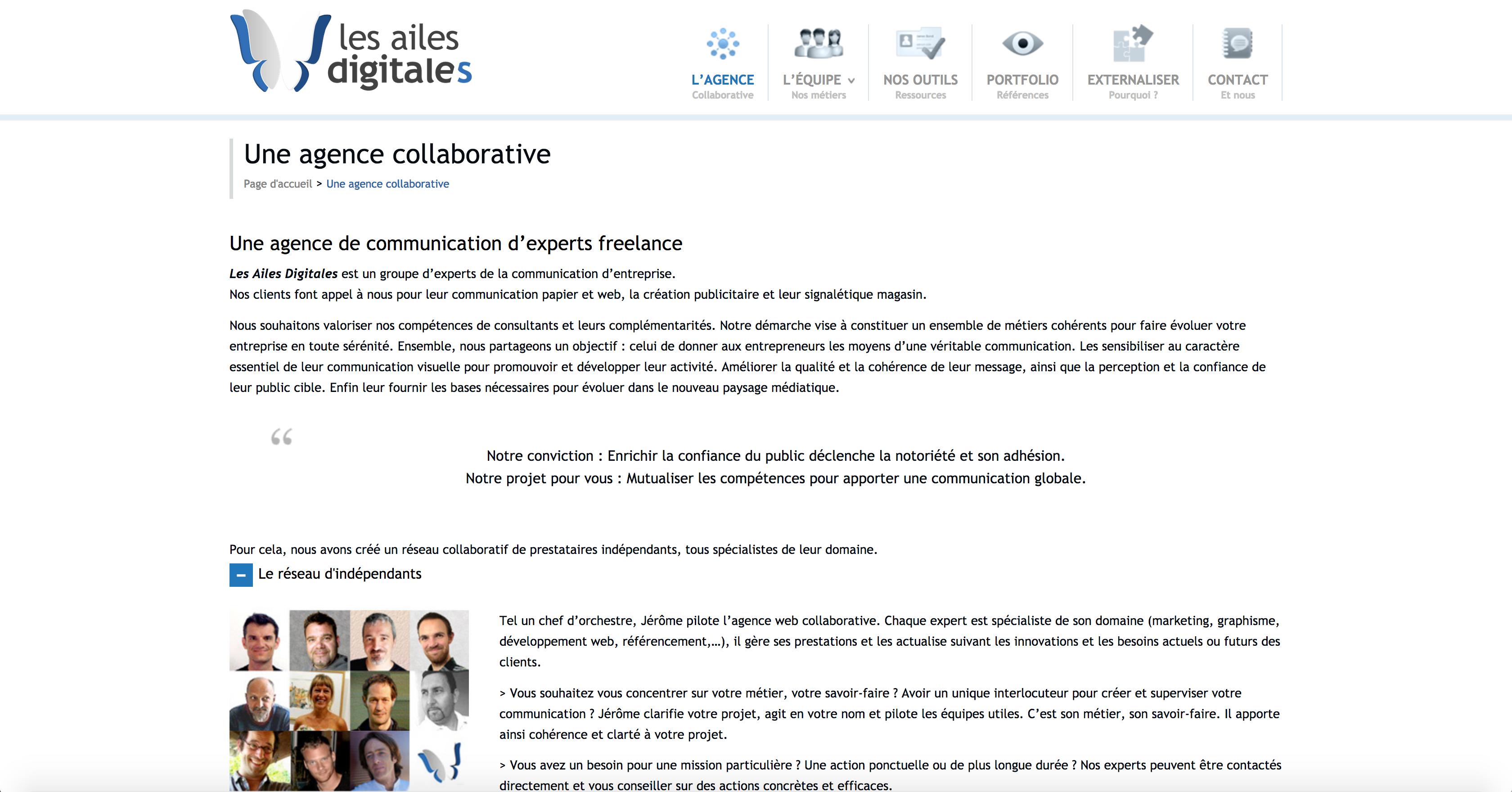 Une agence collaborative Les Ailes digitales