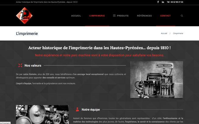 Imprimerie Péré à Bagnères-de-Bigorre